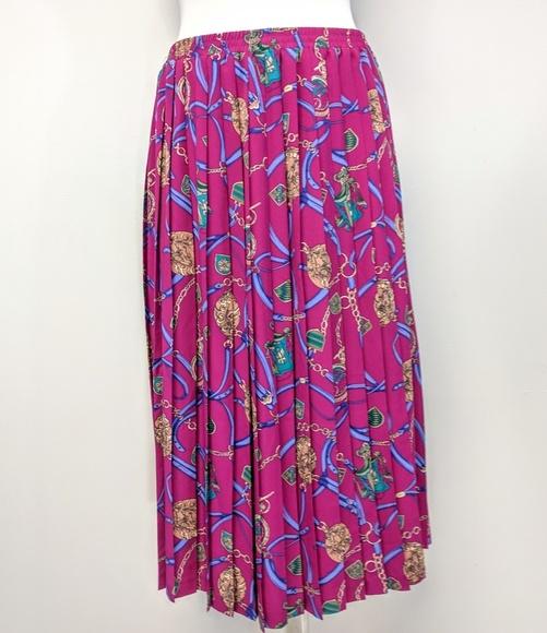 Alfred Dunner Dresses & Skirts - Chain Print Midi Skirt